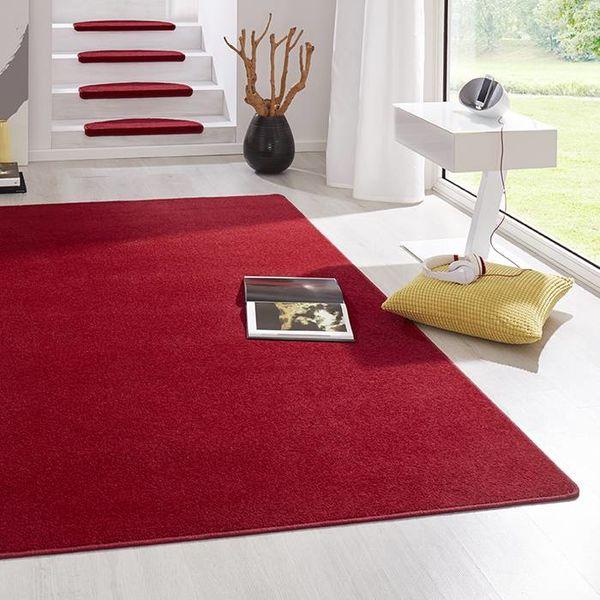 Hanse Home Laagpolig vloerkleed - Fancy rood