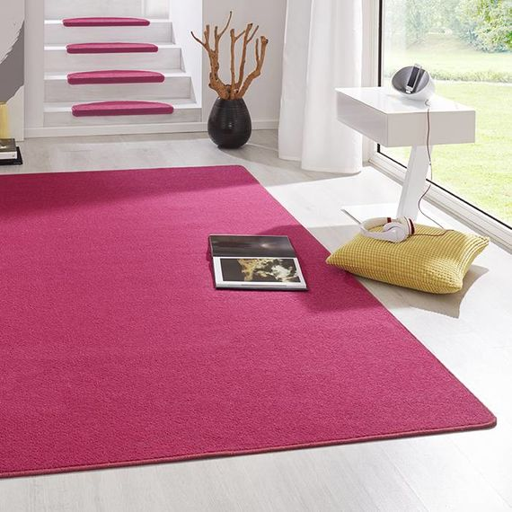 Hanse Home Laagpolig vloerkleed - Fancy roze