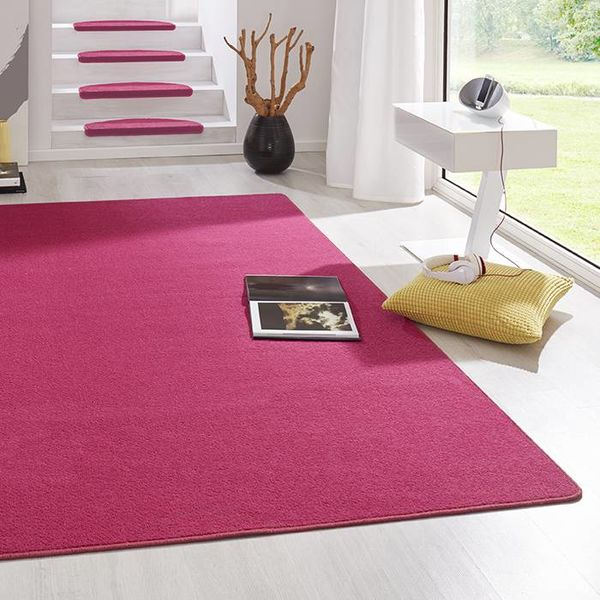 Laagpolig vloerkleed - Fancy roze