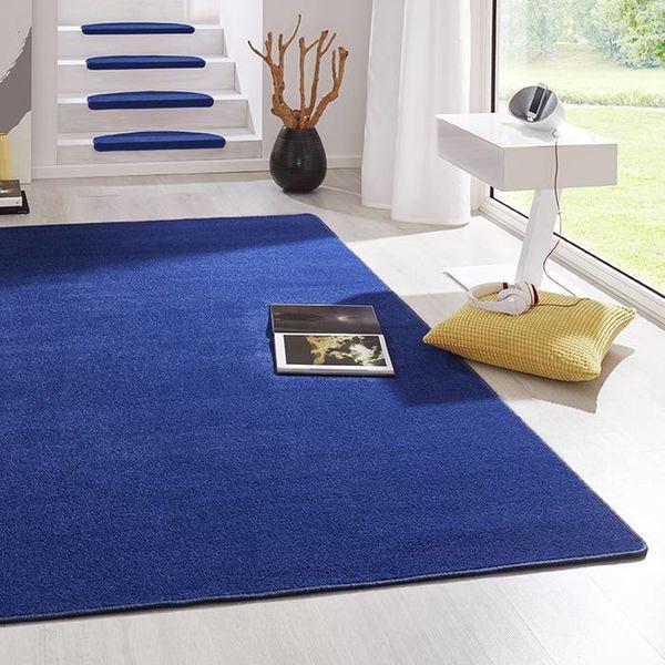 Laagpolig vloerkleed - Fancy blauw