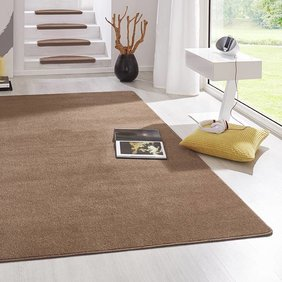 Hanse Home Laagpolig vloerkleed - Fancy bruin