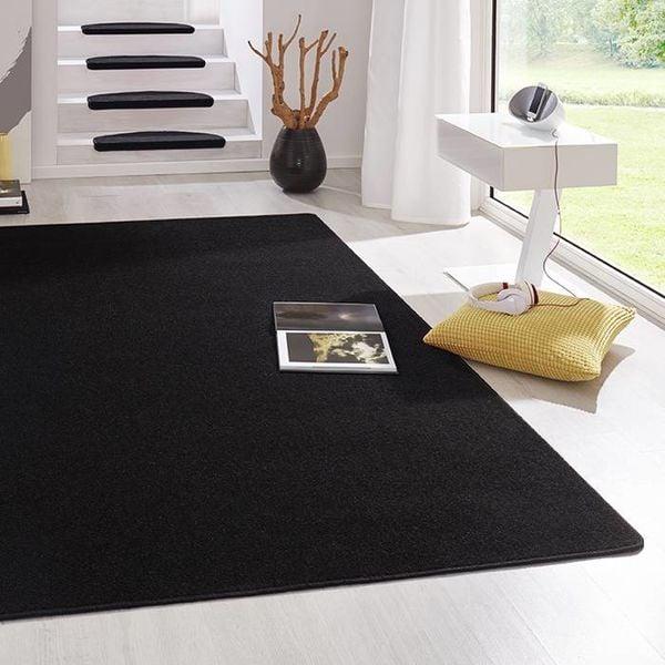 Laagpolig vloerkleed - Fancy zwart