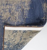 Louis de Poortere Vintage Vloerkleed - Mad Men Abyss Blue 8629