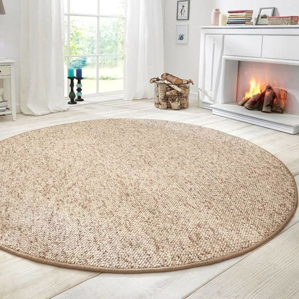 Mint Rugs Rond vloerkleed - Wolly Beige