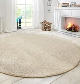 Mint Rugs Rond vloerkleed - Wolly Creme