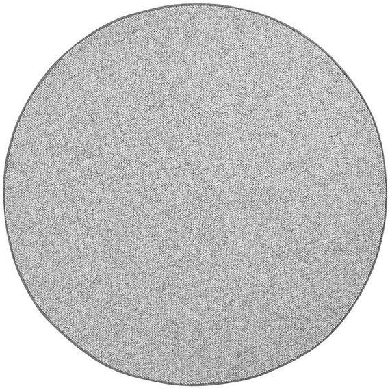 Mint Rugs Rond vloerkleed - Wolly Grijs