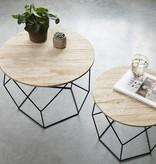 Lifa Living Geometrische bijzettafel 2/set
