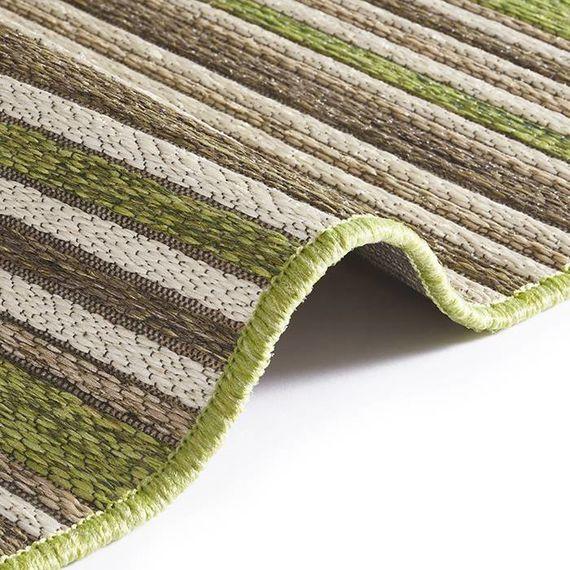 Bougari Buitenkleed - Lotus Groen/Bruin