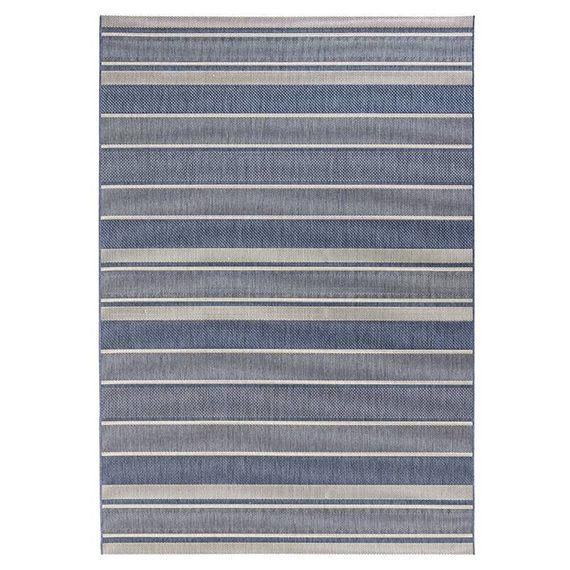Bougari Buitenkleed - Strap Blauw