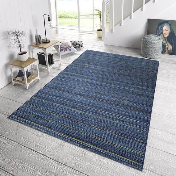 Bougari Vloerkleed - Lotus Blauw gemeleerd