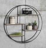Lifa Living Industrieel vintage wandrek - rond