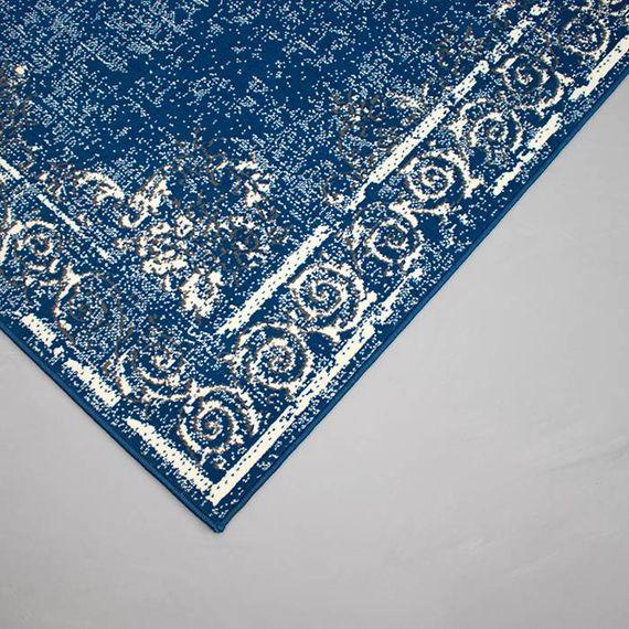 FRAAI Vintage vloerkleed - Famous Donkerblauw