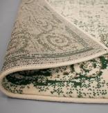 FRAAI Vintage vloerkleed - Famous Creme/Groen