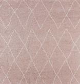 Mint Rugs Hoogpolig vloerkleed Desire - Jace Roze/Creme