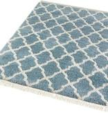 Mint Rugs Hoogpolig vloerkleed - Desire Pearl Blauw/Creme