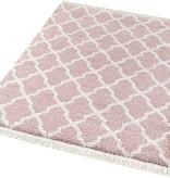 Mint Rugs Hoogpolig vloerkleed - Desire Pearl Roze/Creme