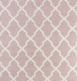 Mint Rugs Hoogpolig vloerkleed Desire - Pearl Roze/Creme