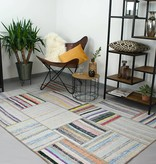 Brinker carpets Vintage vloerkleed patchwork Moods Grijs Multicolor No.15