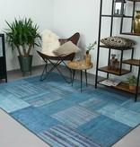 Brinker carpets Vintage vloerkleed patchwork Moods Blauw Multicolor No.14