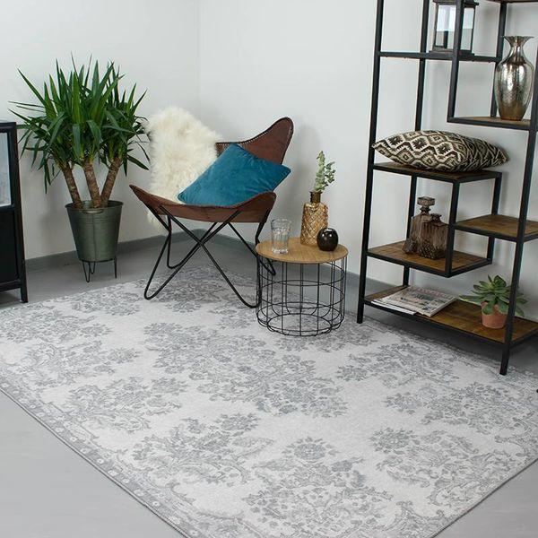 Brinker carpets Perzisch Tapijt - Moods Grijs No.02