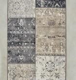 Vintage vloerkleed - Patchwork Grijs
