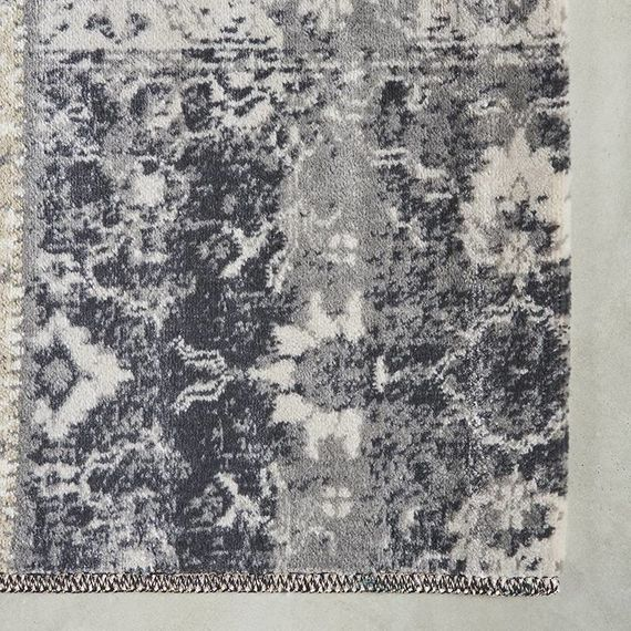 Lifa Living Vintage vloerkleed - Patchwork Grijs