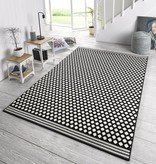 Zala living Modern vloerkleed - Bastille Stip zwart/wit
