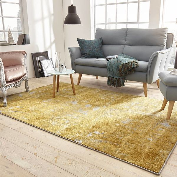 Mint Rugs Vintage vloerkleed - Golden Good Goud