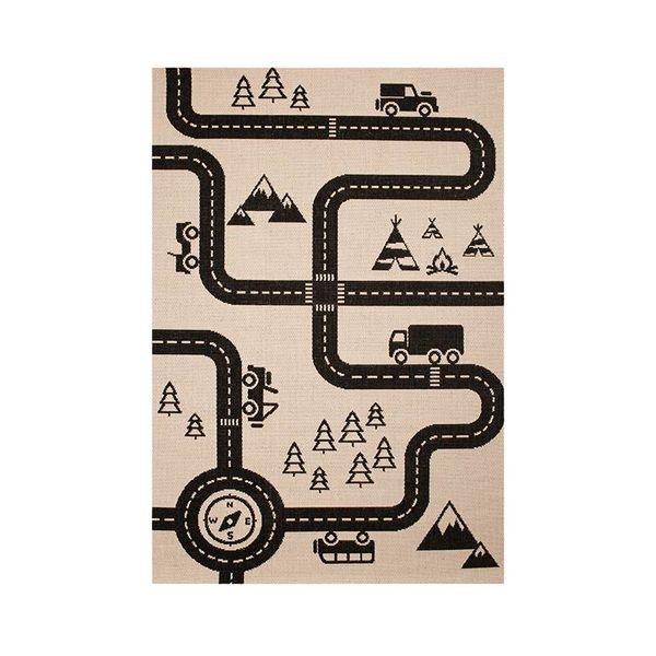 Zala living Kindervloerkleed - Ella auto map