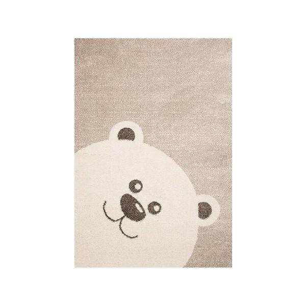 Kindervloerkleed - Ella ijsbeer bruin