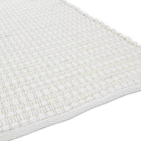 Brinker carpets Wollen vloerkleed Piera 1 - Wit