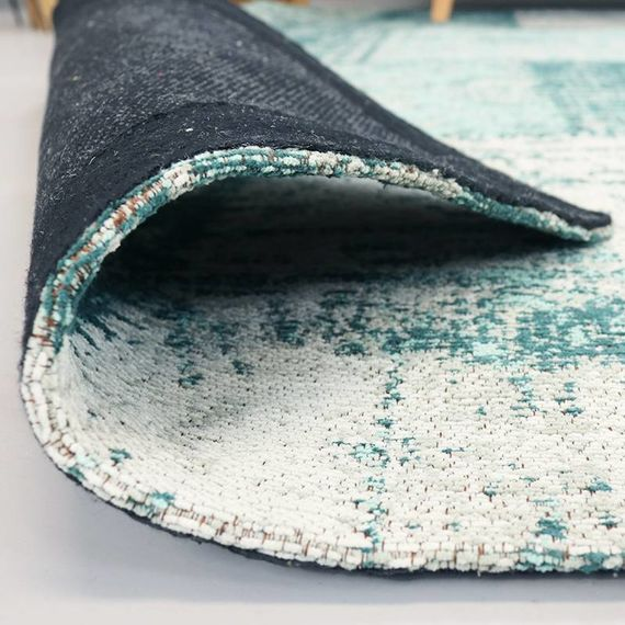 FRAAI Patchwork vloerkleed - Dreams Mint/Turquoise