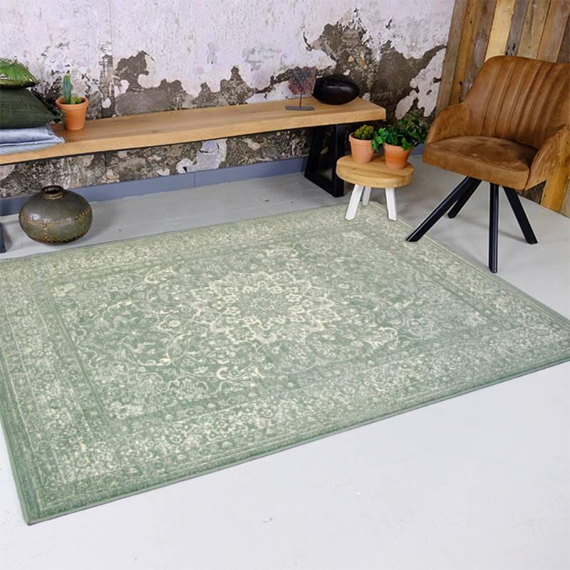 Vintage vloerkleed - Wonder Oriental groen 280x380cm