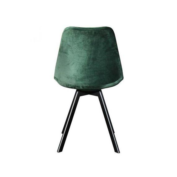 Kick Collection Stoel velvet - Soof donker groen