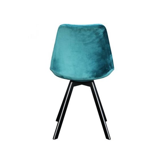 Kick Collection Stoel velvet - Soof blauw