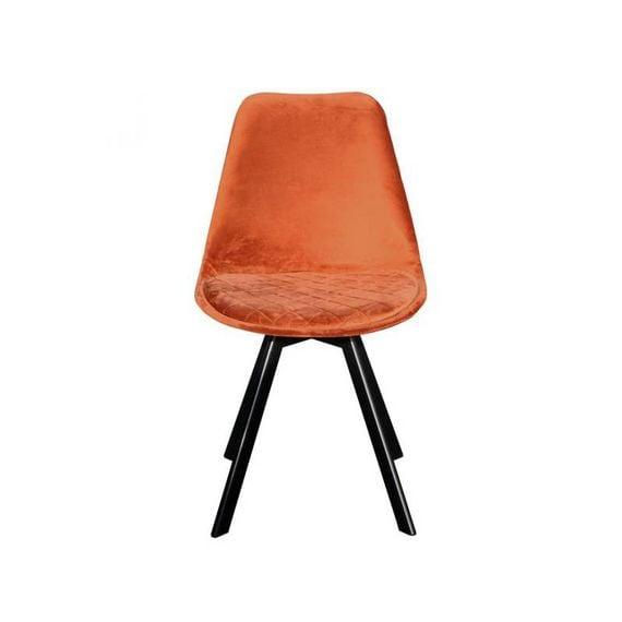 Kick Collection Stoel velvet - Soof Oranje