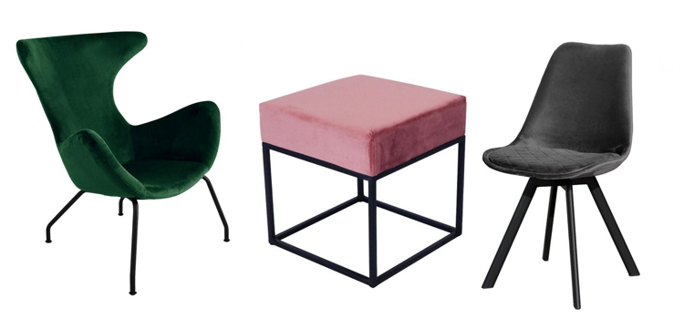 Velvet stoel Velvet kruk