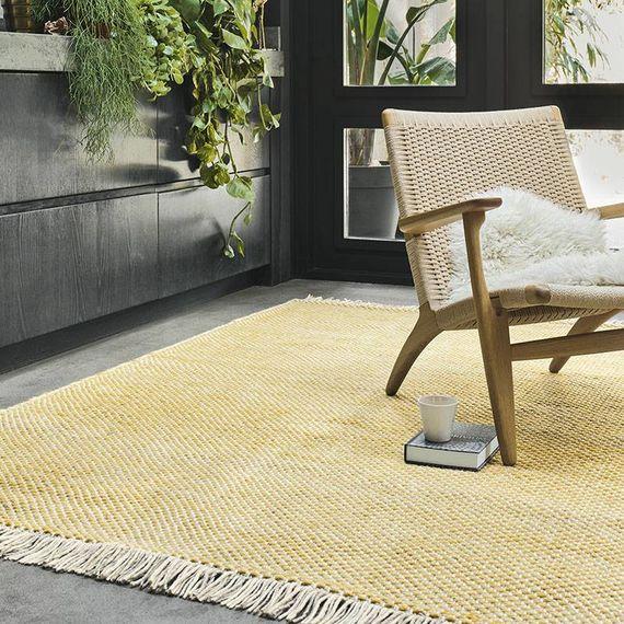 Brink & Campman Vloerkleed Atelier - Craft 49506 Geel
