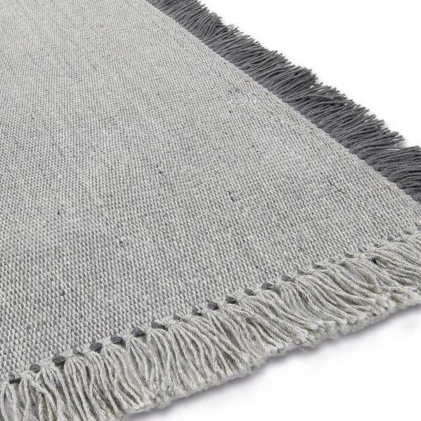 Brinker carpets Wollen vloerkleed - Barrax Grijs