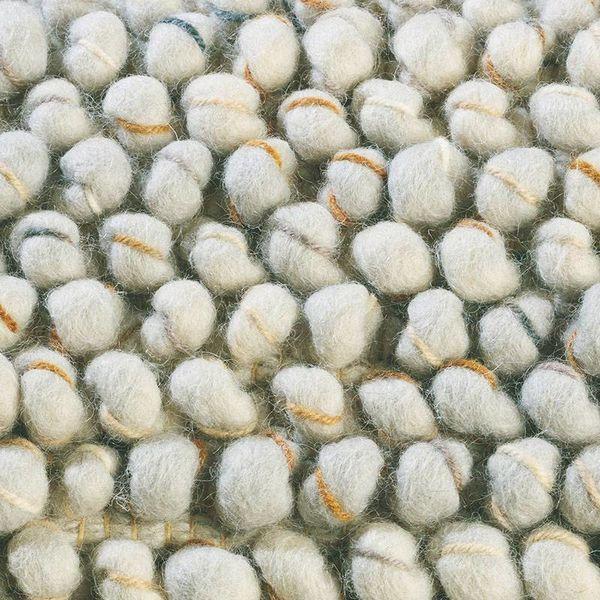 Brink & Campman Wollen vloerkleed - Cobble Gebroken Wit 29201