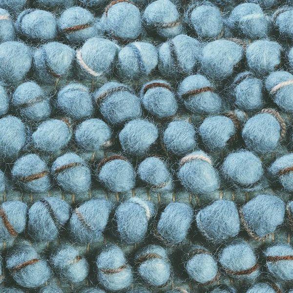 Brink & Campman Wollen vloerkleed - Cobble Blauw 29218