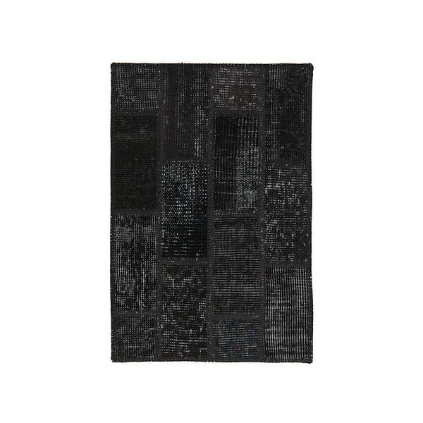 Patchwork vloerkleed - Vintage Black