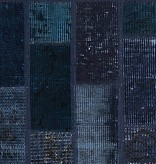 Brinker carpets Patchwork vloerkleed - Vintage  Dark blue