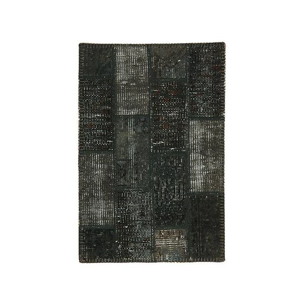 Brinker carpets Patchwork vloerkleed - Vintage Dark green