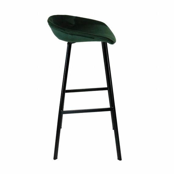 Kick Collection Velvet barkruk - groen