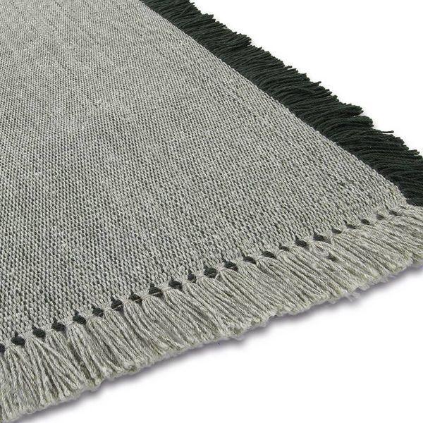 Wollen vloerkleed - Barrax Groen