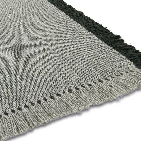 Brinker carpets Wollen vloerkleed - Barrax Groen