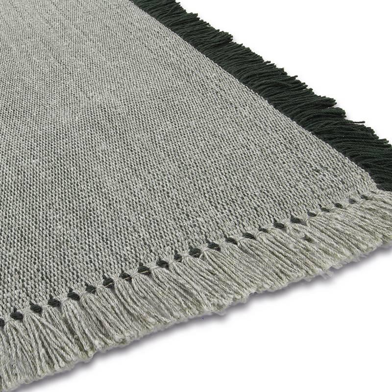 Wollen vloerkleed - Barrax Groen 240x340cm