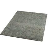 Brinker carpets Wollen vloerkleed - Salsa 65 Grijs/Blauw