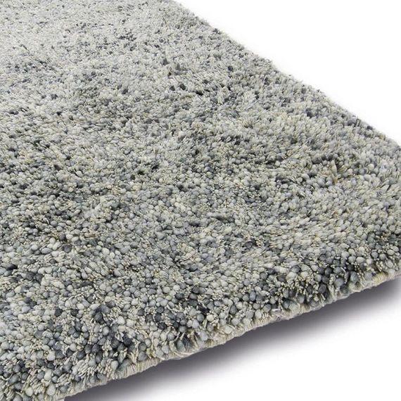 Brinker carpets Wollen vloerkleed - Salsa 112 Grijs/Blauw